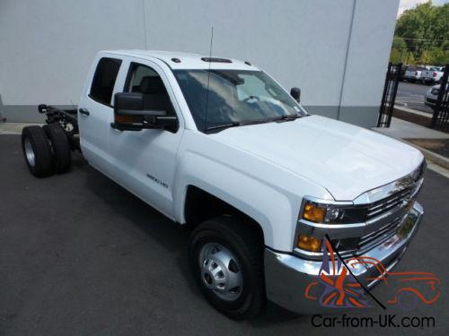2016 chevrolet silverado 3500 4wd double cab 158 1 work truck. Black Bedroom Furniture Sets. Home Design Ideas