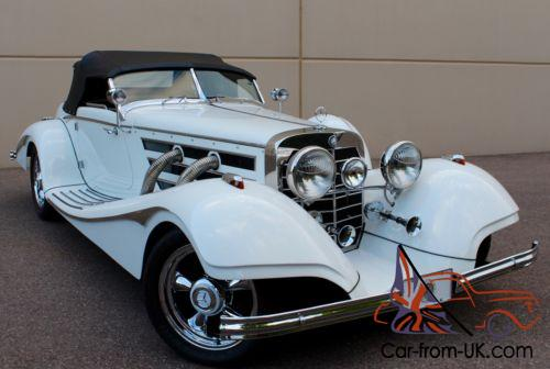 1936 replica kit makes mercedes benz 540k 500k excalibur style for 1936 mercedes benz 540k replica