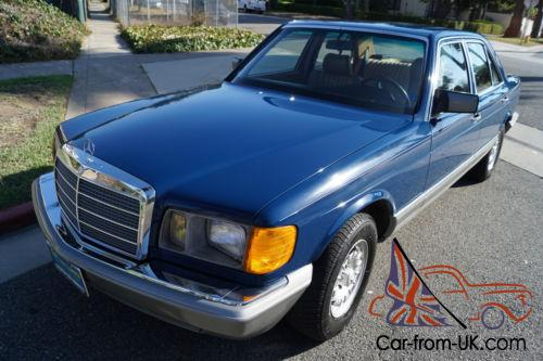 1985 mercedes benz 300 series 300sd turbo diesel sedan for 1985 mercedes benz 300sd