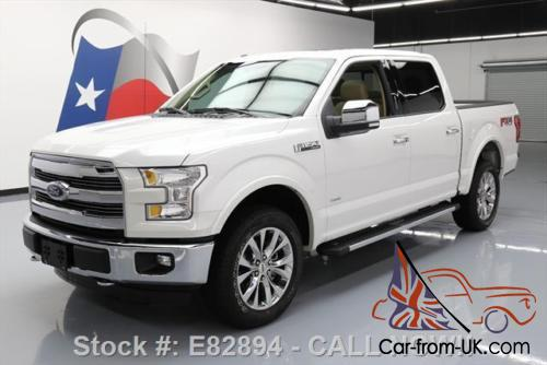 2015 ford f 150 lariat crew 4x4 ecoboost sunroof nav. Black Bedroom Furniture Sets. Home Design Ideas