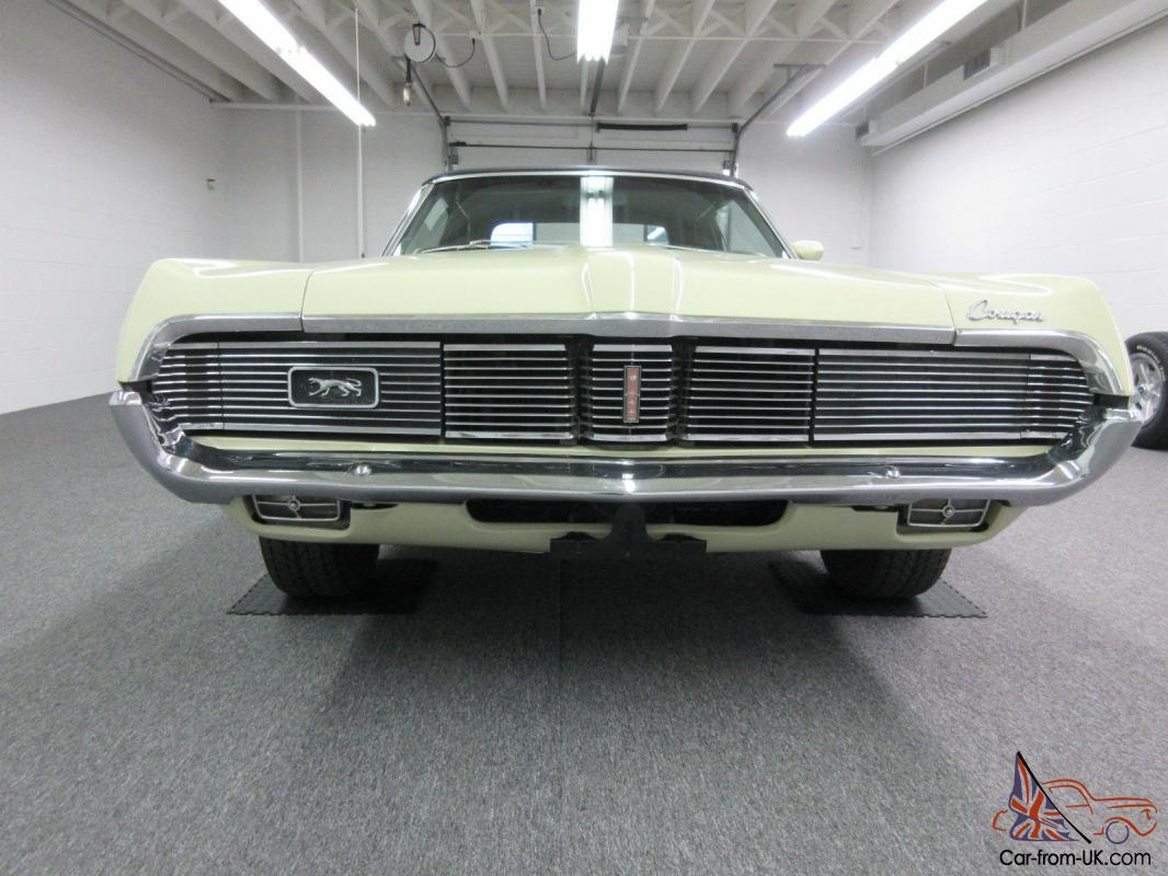 1969 Mercury Cougar Convertible Ebay