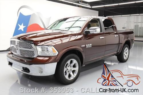 2014 dodge ram 1500 ram laramie crew 4x4 hemi sunroof nav. Black Bedroom Furniture Sets. Home Design Ideas