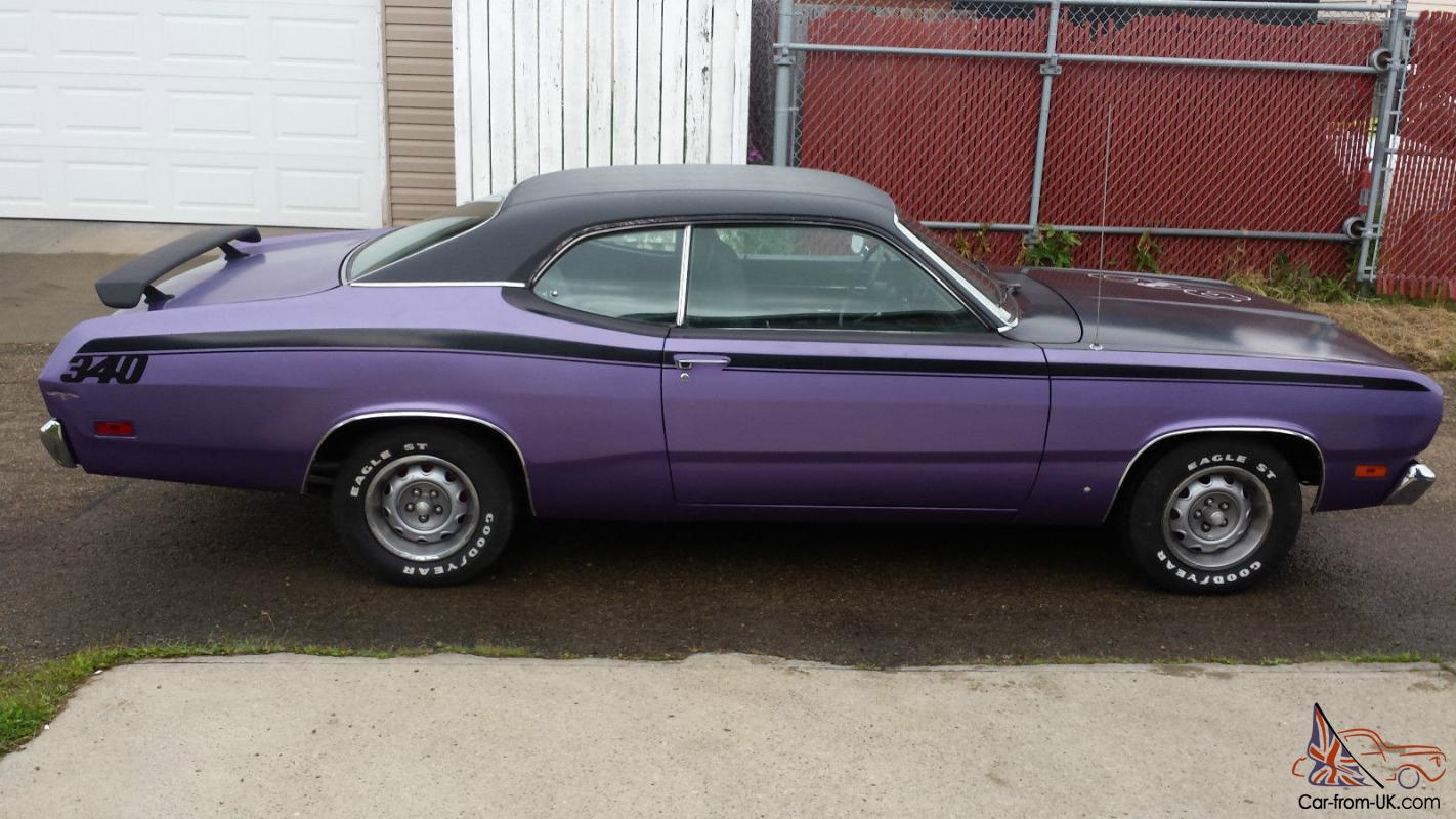 1971 plymouth duster 340 ebay. Black Bedroom Furniture Sets. Home Design Ideas
