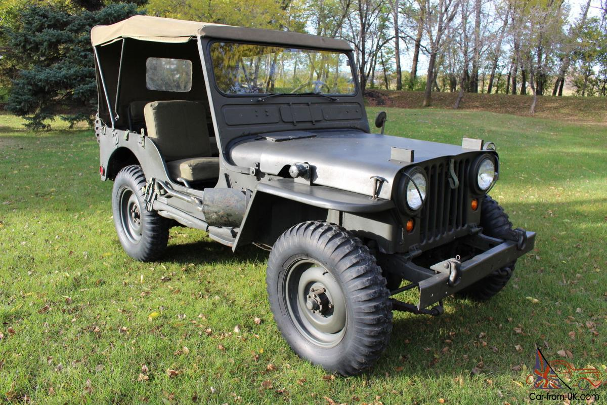 1952 willys willys jeep m38 jeep