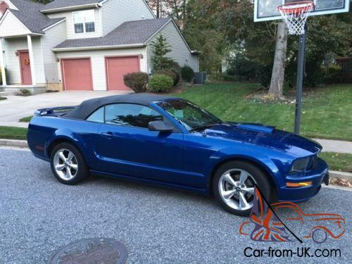 2008 Ford Mustang Gt Premium 2dr Convertible Photo