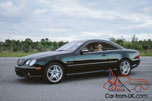 2003 mercedes benz cl class amg kompressor coupe low miles for Mercedes benz cl55 amg price