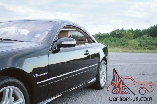 2003 mercedes benz cl class amg kompressor coupe low miles for Mercedes benz roadside assistance free