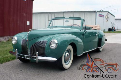 1940 lincoln continental convertible. Black Bedroom Furniture Sets. Home Design Ideas