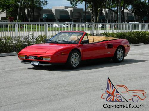 ferrari mondial t engine wilyb 39 s 1990 ferrari mondial. Black Bedroom Furniture Sets. Home Design Ideas