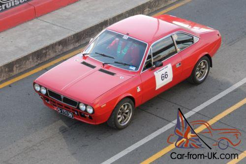 lancia beta coupe race/rally/hillclimb car