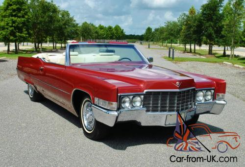 1969 cadillac deville convertible 472 v8 original colors super clean. Black Bedroom Furniture Sets. Home Design Ideas