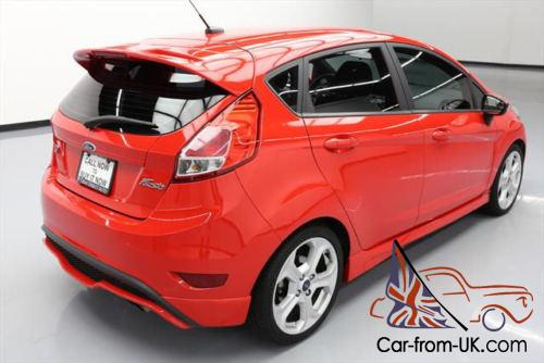 2014 ford fiesta st hatchback 6 speed spoiler sync. Black Bedroom Furniture Sets. Home Design Ideas