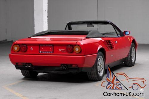 1987 ferrari mondial. Black Bedroom Furniture Sets. Home Design Ideas