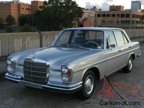 1967 mercedes benz 200 series 4 speed manual true euro for Mercedes benz w108 for sale