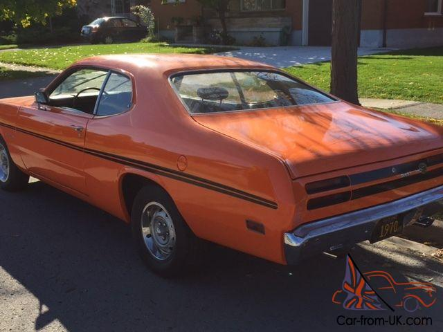 1970 plymouth duster 2 door sports coupe ebay. Black Bedroom Furniture Sets. Home Design Ideas