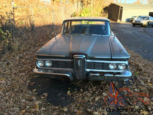 1959 Edsel V8 Auto Trans Power Steering Engine Is Stuck Will Not Run Has Been Sitting A Long Time Great Parts Car