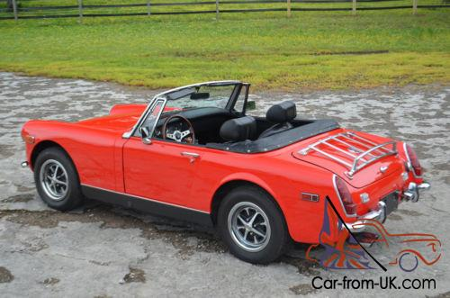 Red mg midget had gone