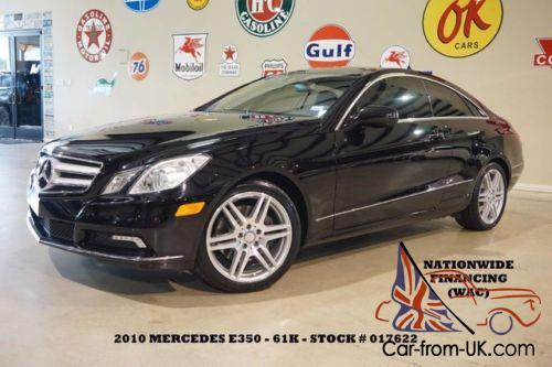 2010 mercedes benz e class coupe p2 pkg pano roof amg whls for Mercedes benz financing rates