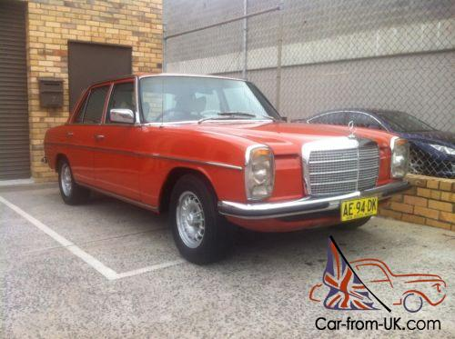 1976 mercedes 240d w115 w114 for Mercedes benz w115 for sale