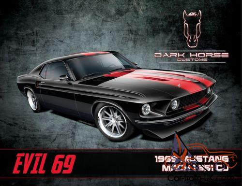 1969 Ford Mustang Mach 1 Photo