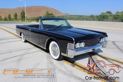 1105c60efb 1965 Lincoln Continental Convertible