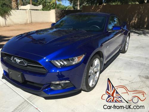 2015 ford mustang loaded 50th anniversary limited edition package. Black Bedroom Furniture Sets. Home Design Ideas