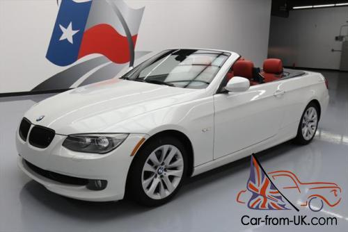 2013 BMW 3 Series 328I HARD TOP CONVERTIBLE RED LEATHER NAV