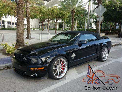2008 ford mustang shelby gt500 super snake 427 edition convertible. Black Bedroom Furniture Sets. Home Design Ideas