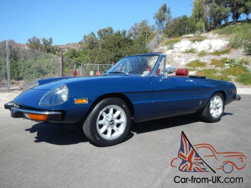 Alfa Romeo Spider - Alfa romeo spider 1974 for sale