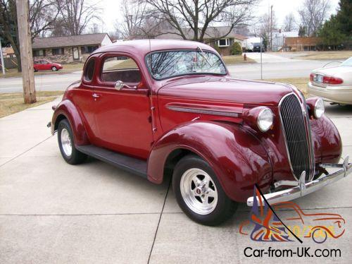 1937 Dodge Coupe Street Rod Project Car For Sale: 1937 Plymouth Other Business Coupe Street Rod