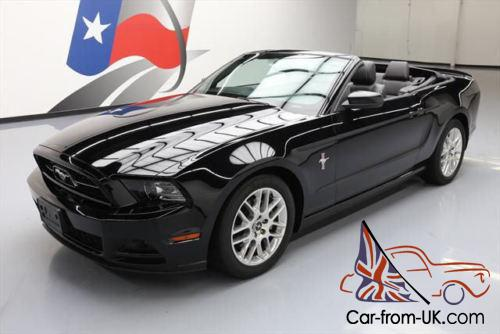 2014 ford mustang prem convertible v6 pony leather. Black Bedroom Furniture Sets. Home Design Ideas