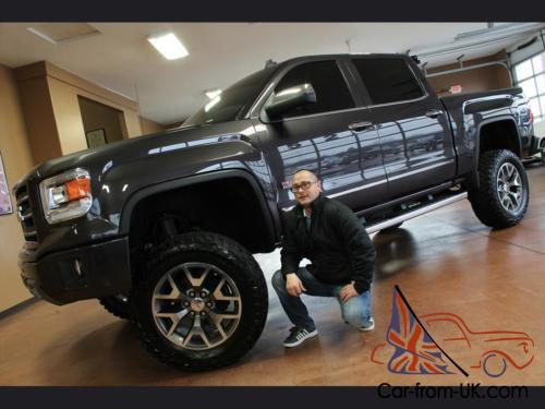 2014 gmc sierra 1500 slt all terrain custom lift. Black Bedroom Furniture Sets. Home Design Ideas