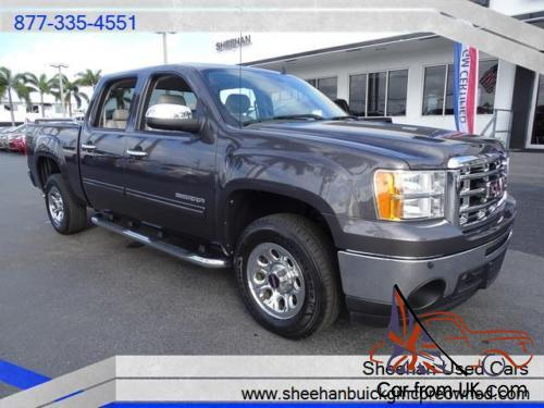 2010 gmc sierra 1500 sle crew cab work or play this truck is ready. Black Bedroom Furniture Sets. Home Design Ideas