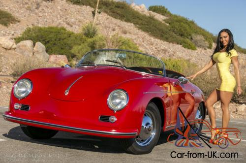 1958 Replica Kit Makes 1958 Porsche 356 Speedster