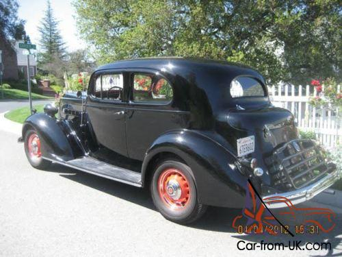 1936 packard 120b touring coupe. Black Bedroom Furniture Sets. Home Design Ideas