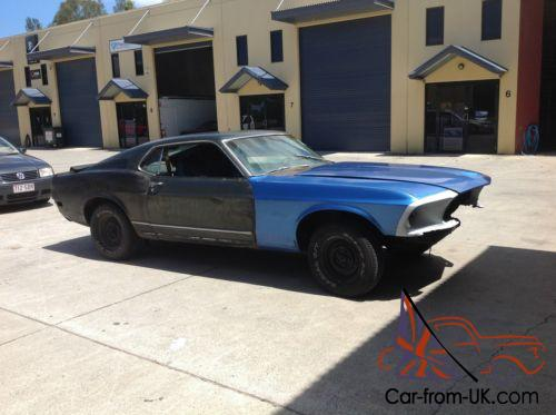 1970 ford mustang mach 1 fastback cheap project car. Black Bedroom Furniture Sets. Home Design Ideas