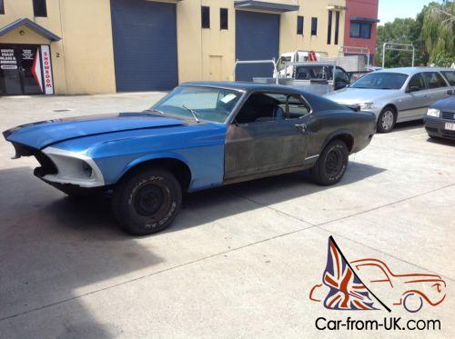 1970 Ford Mustang Mach 1 Fastback Cheap Project Car
