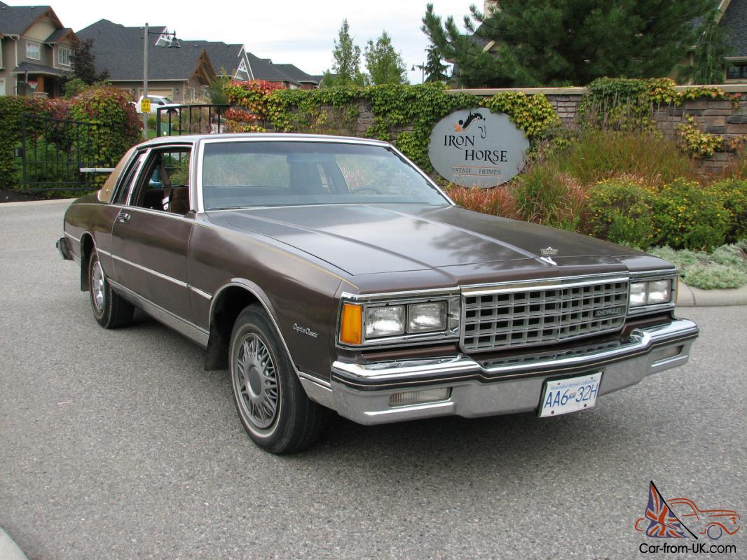 1984 chevrolet caprice caprice classic ebay. Black Bedroom Furniture Sets. Home Design Ideas