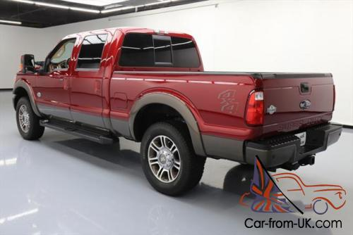 2016 ford f 250 king ranch crew 4x4 diesel nav 20 39 s. Black Bedroom Furniture Sets. Home Design Ideas