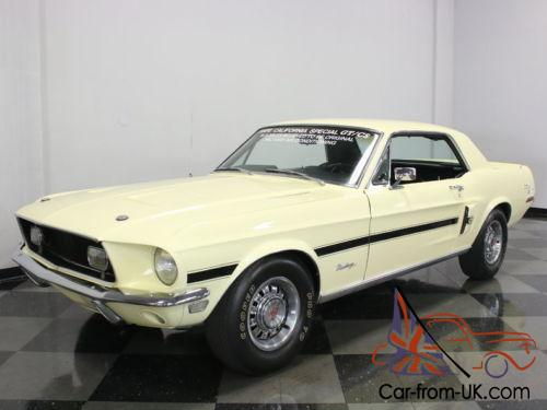 1968 ford mustang gt california special. Black Bedroom Furniture Sets. Home Design Ideas