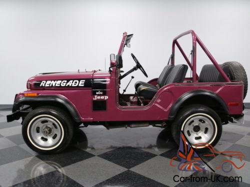 jeep cj renegade