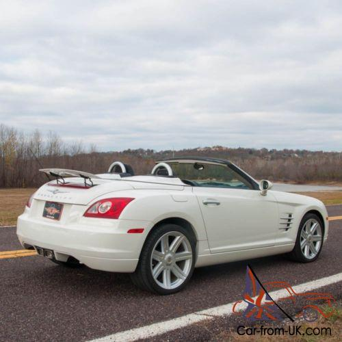 2006 Chrysler Crossfire Crossfire Convertible Limited