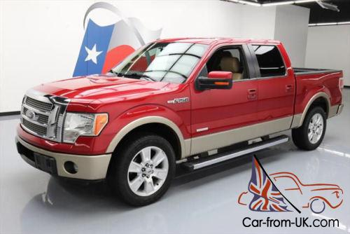 2012 ford f 150 lariat crew ecoboost sunroof nav. Black Bedroom Furniture Sets. Home Design Ideas