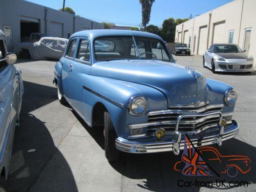 1949 plymouth other for 1949 plymouth 4 door sedan