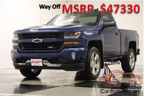 2017 chevrolet silverado 1500 msrp 47330 4x4 lt camera deep ocean blue gps reg 4wd. Black Bedroom Furniture Sets. Home Design Ideas