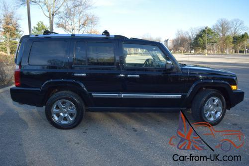 2006 jeep commander 4wd limited-edition