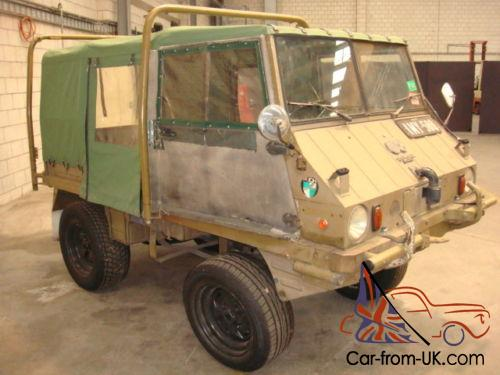 Steyr Puch Haflinger 4wd 700ap Duel Tanks Rear Seats Power Take Off