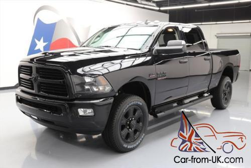 2015 dodge ram 2500 big horn hemi 4x4 blk pkg nav. Black Bedroom Furniture Sets. Home Design Ideas