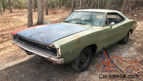 1968 Dodge Charger 1968 CHARGER R/T 440 AUTO RUNNING