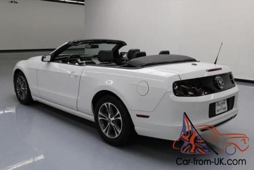 2014 ford mustang v6 prem convertible soft top auto. Black Bedroom Furniture Sets. Home Design Ideas